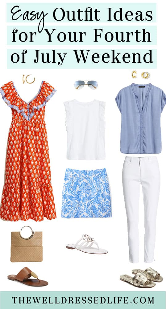 Easy Outfit Ideas for Your Fourth of July Weekend