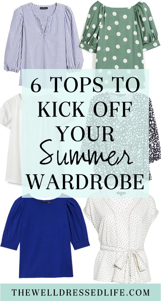 6 Tops to Kick off Your Summer Wardrobe