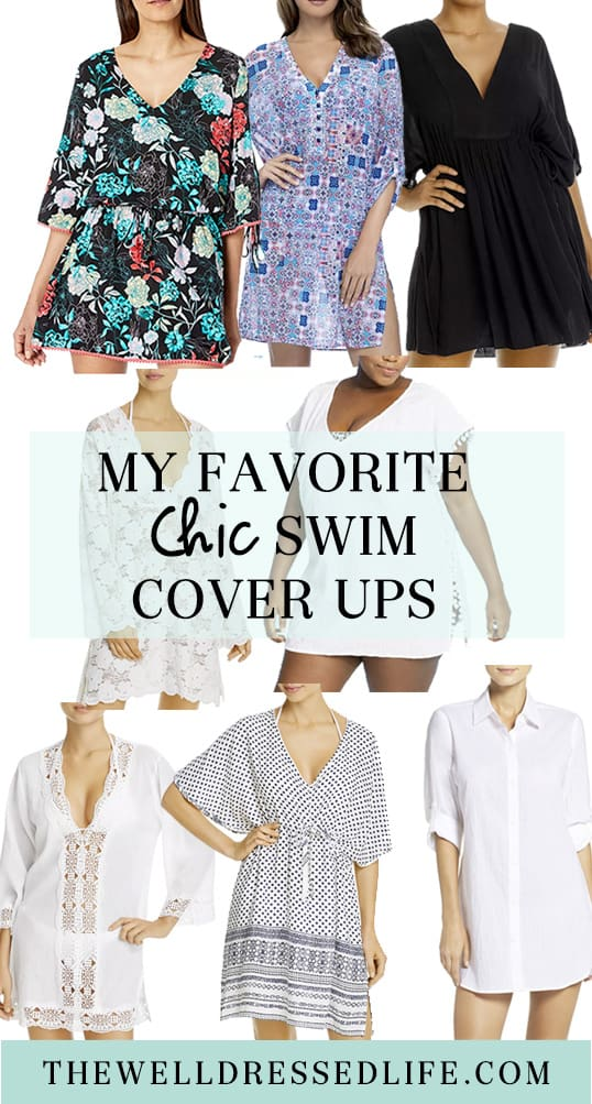 My Favorite Chic Swim Cover Ups