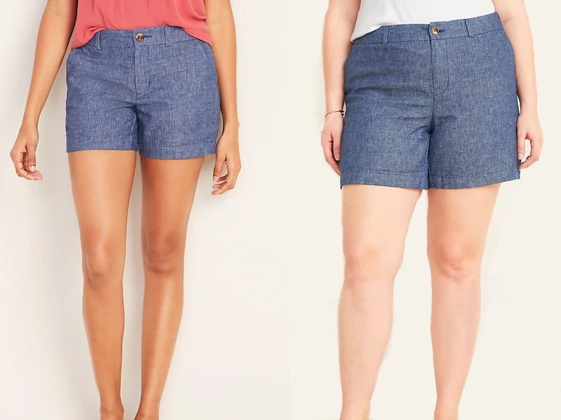Chambray Shorts from Old Navy