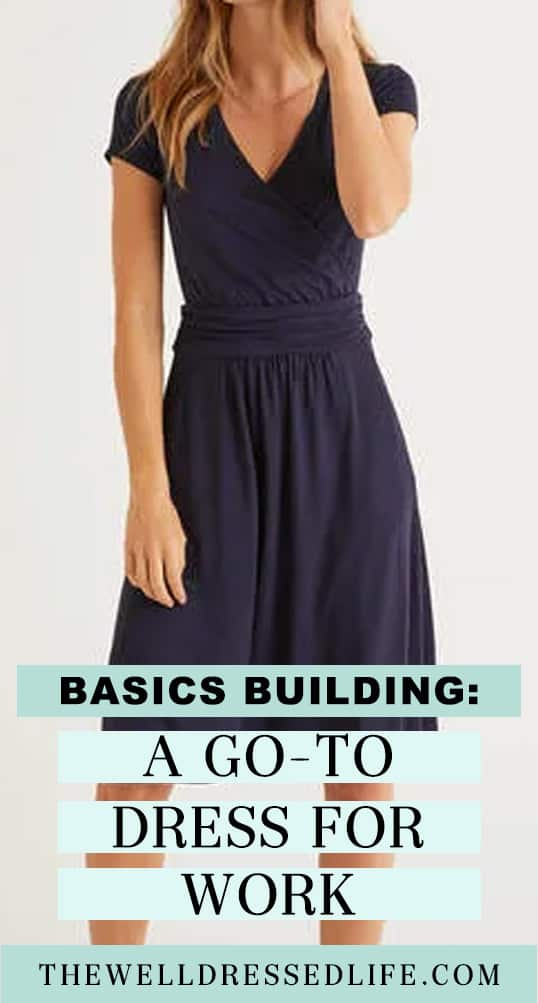 Navy Dress by Boden