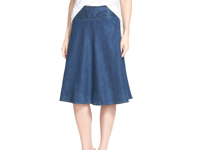 Nic + Zoe Denim Skirt