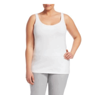 NIC+ZOE, Plus Size Basic Solid Tank Top