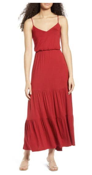Tiered Cami Maxi Dress at Nordstrom