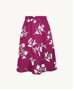 Ann Taylor Floral Full Skirt