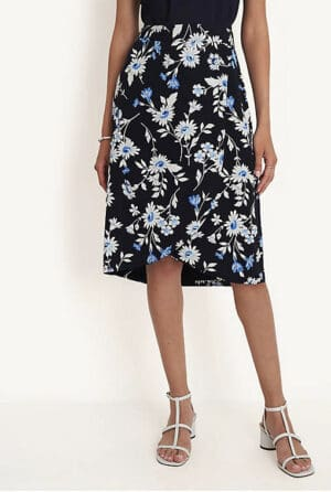 Ann Taylor  Tulip Wrap Pencil Skirt