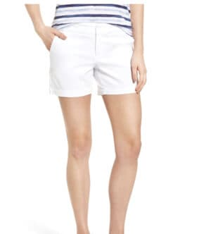 Cotton Twill Shorts CASLON® at Nordstrom