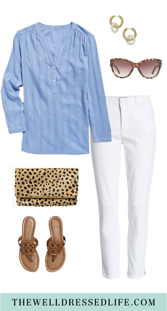 How to Wear a Tunic in the Summer