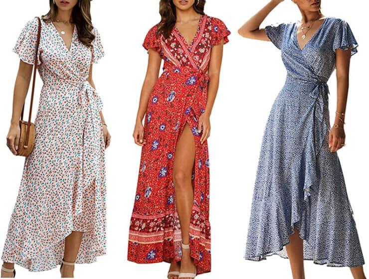 $30 Wrap Dress from Amazon