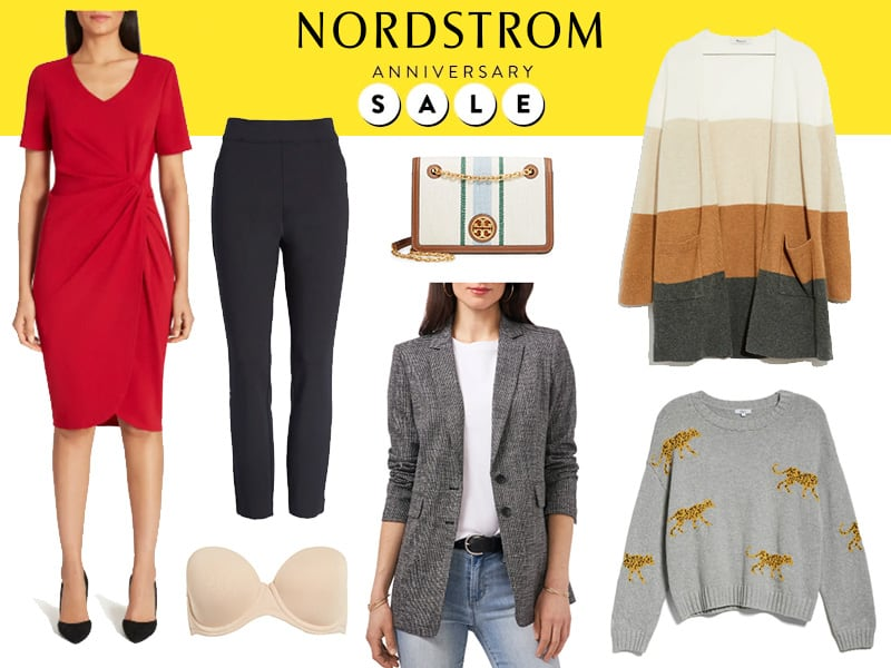 A collage of what to buy at the Nordstrom Anniversary Sale