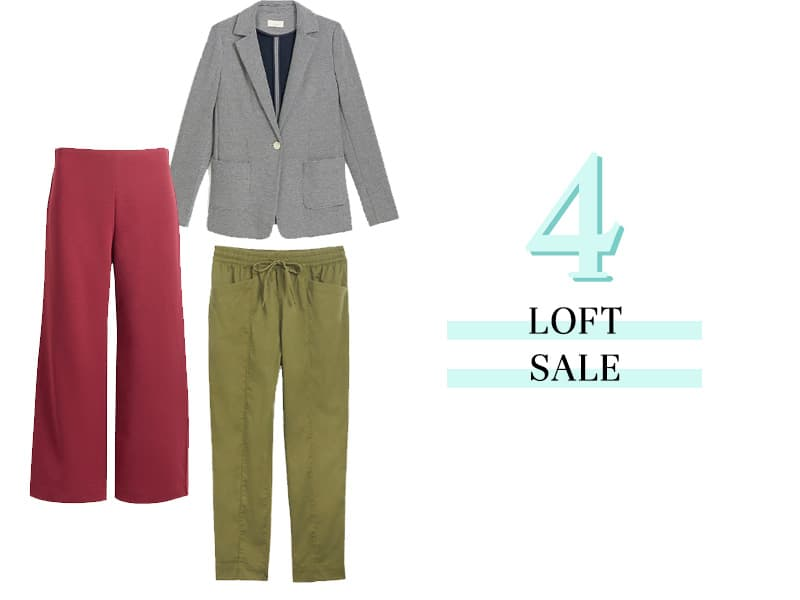 Sale pieces at LOFT