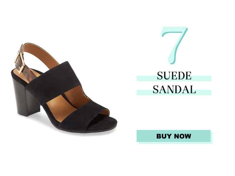 Vionic Bianca Suede Sandal