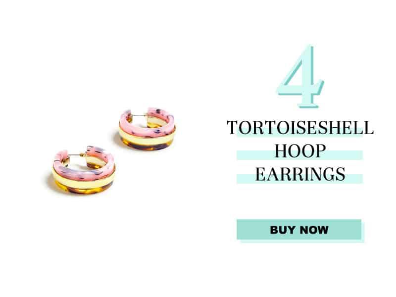 Ann Taylor Tortoiseshell Hoops