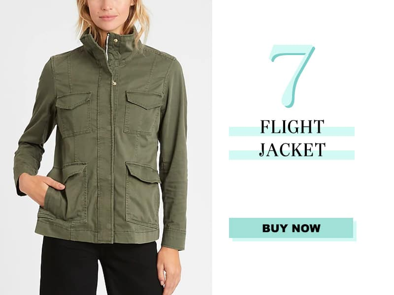 Banana Republic Flight Jacket