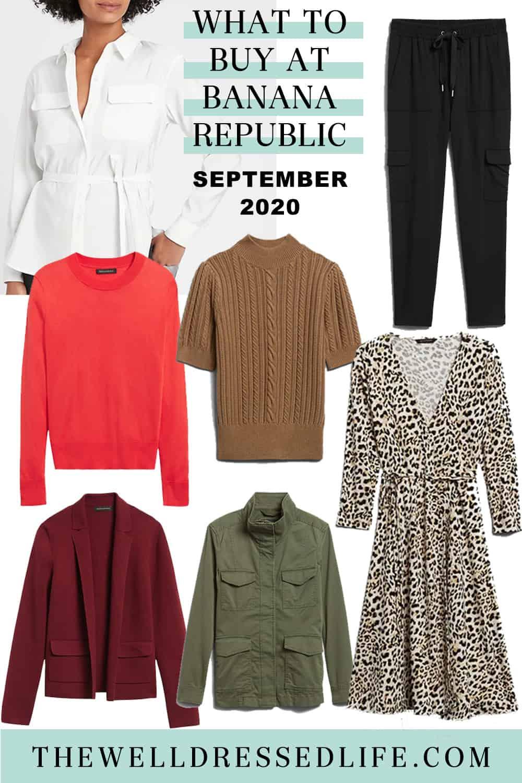 What to Buy at Banana Republic September 2020