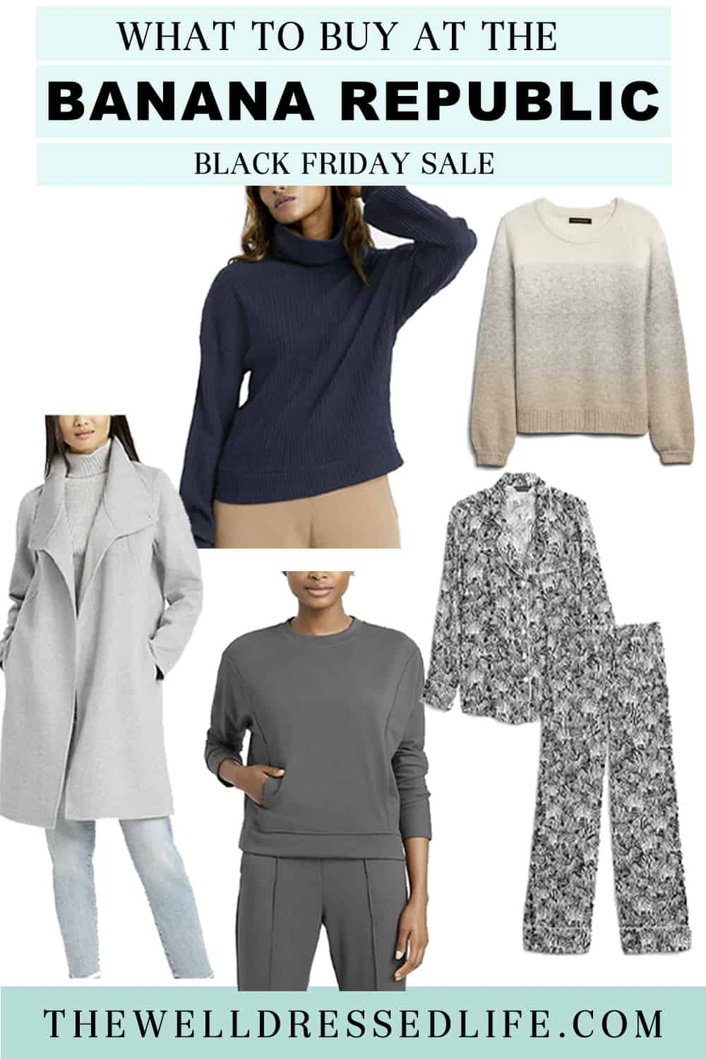 What to Buy at Banana Republic\'s Black Friday Sale
