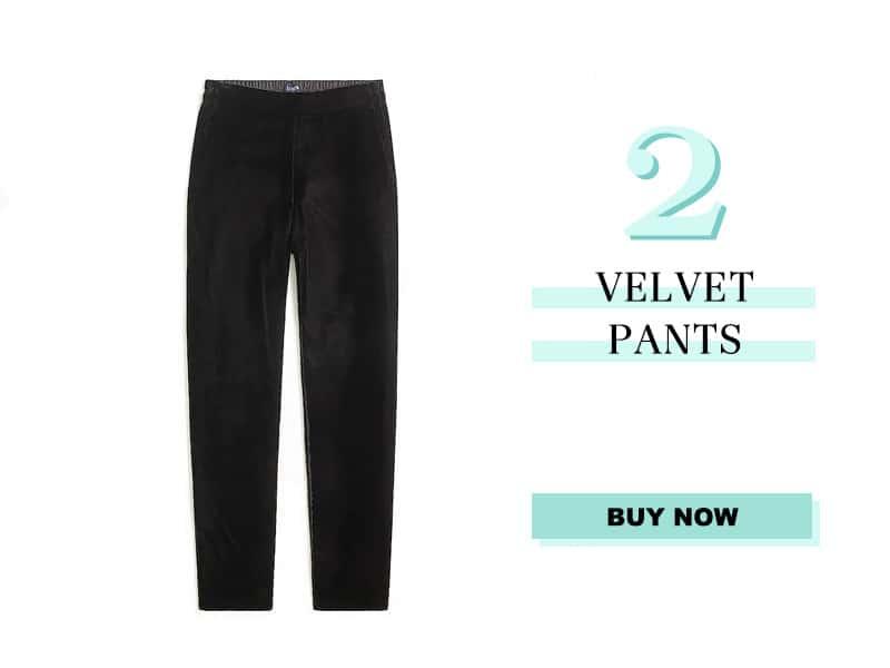 J.Crew Factory Velvet Pants