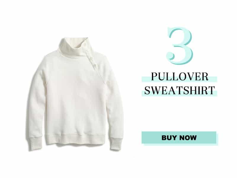 J.Crew Factory Pullover Sweatshirt