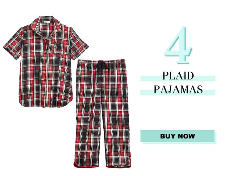 LOFT plaid pajamas