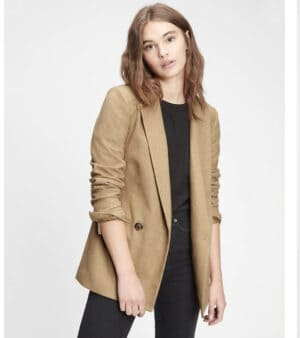 GAP Double Breasted Blazer