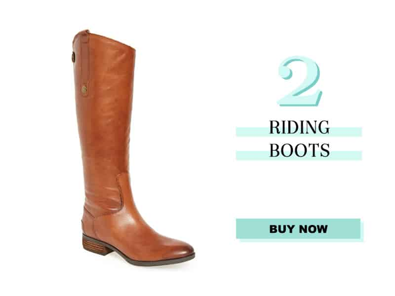 Sam Edelman Riding boots in whiskey