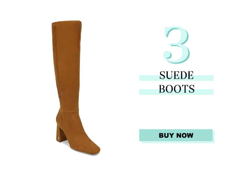 Sam Edelman over the knee suede boots