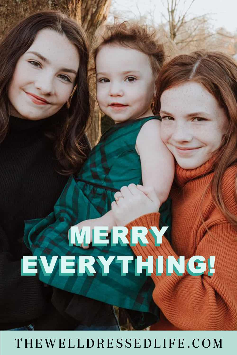 Merry Everything and a Heartfelt Thank You