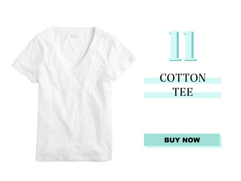 J.Crew Cotton Tee