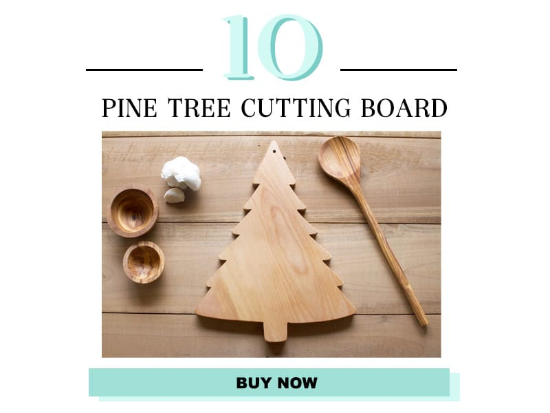 Pine Tree Cutting Board