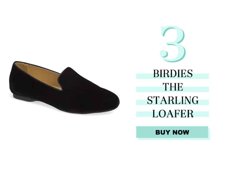 Birdies the starling loafer in black