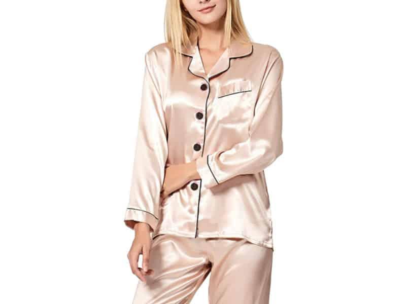 Incredible satin Pajamas under $30 at Amazon