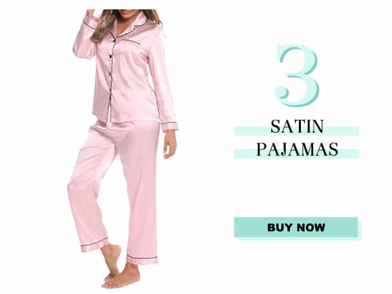 Satin Pajamas from Amazon