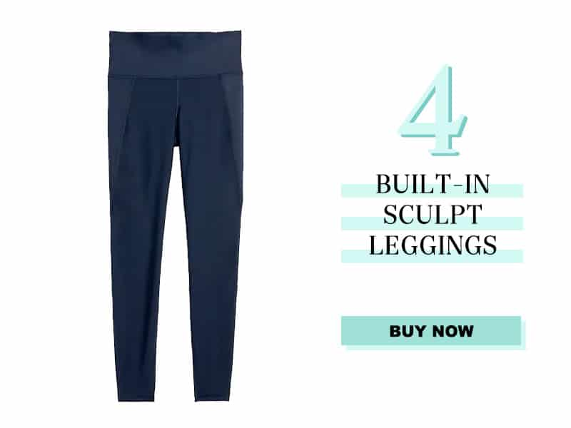 Built In Sculpt Leggings from Old Navy