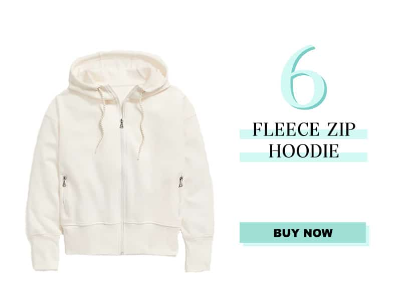 Old Navy Fleece Zip Hoodie