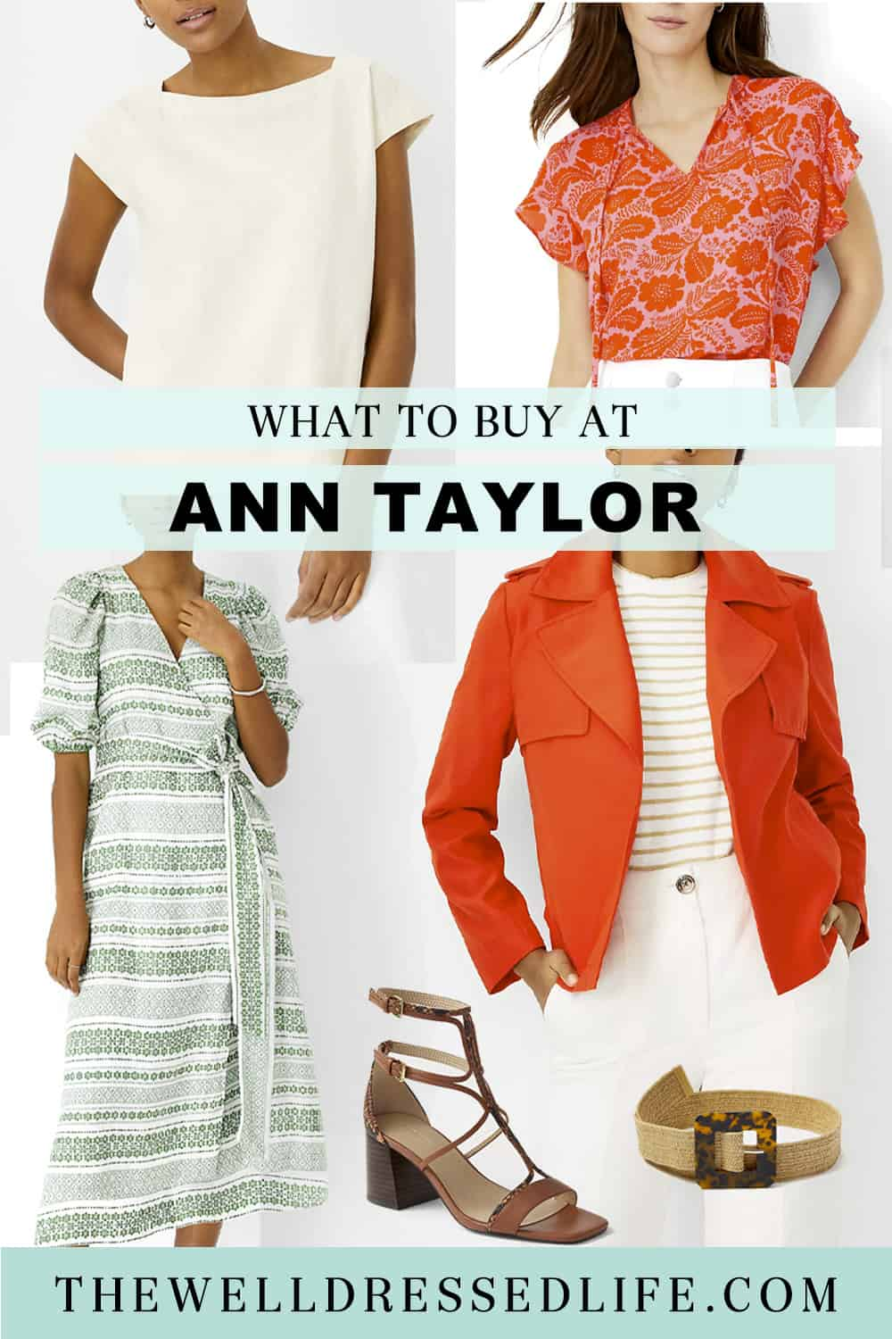 What to Buy at Ann Taylor in May