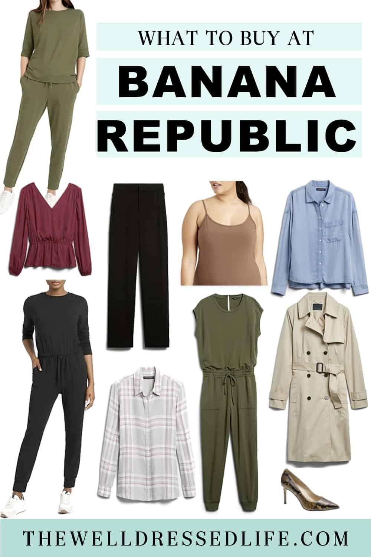 What to Buy at Banana Republic