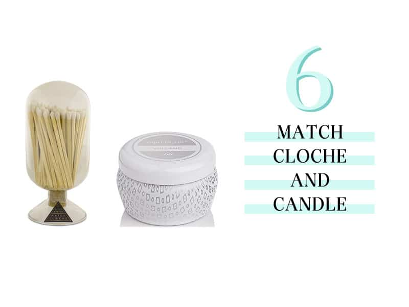 Match Cloche and Candle
