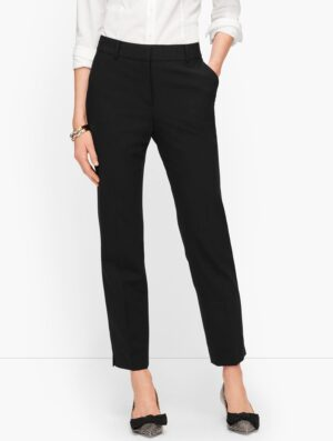 Talbots LUXE WOOL SLIM ANKLE PANTS