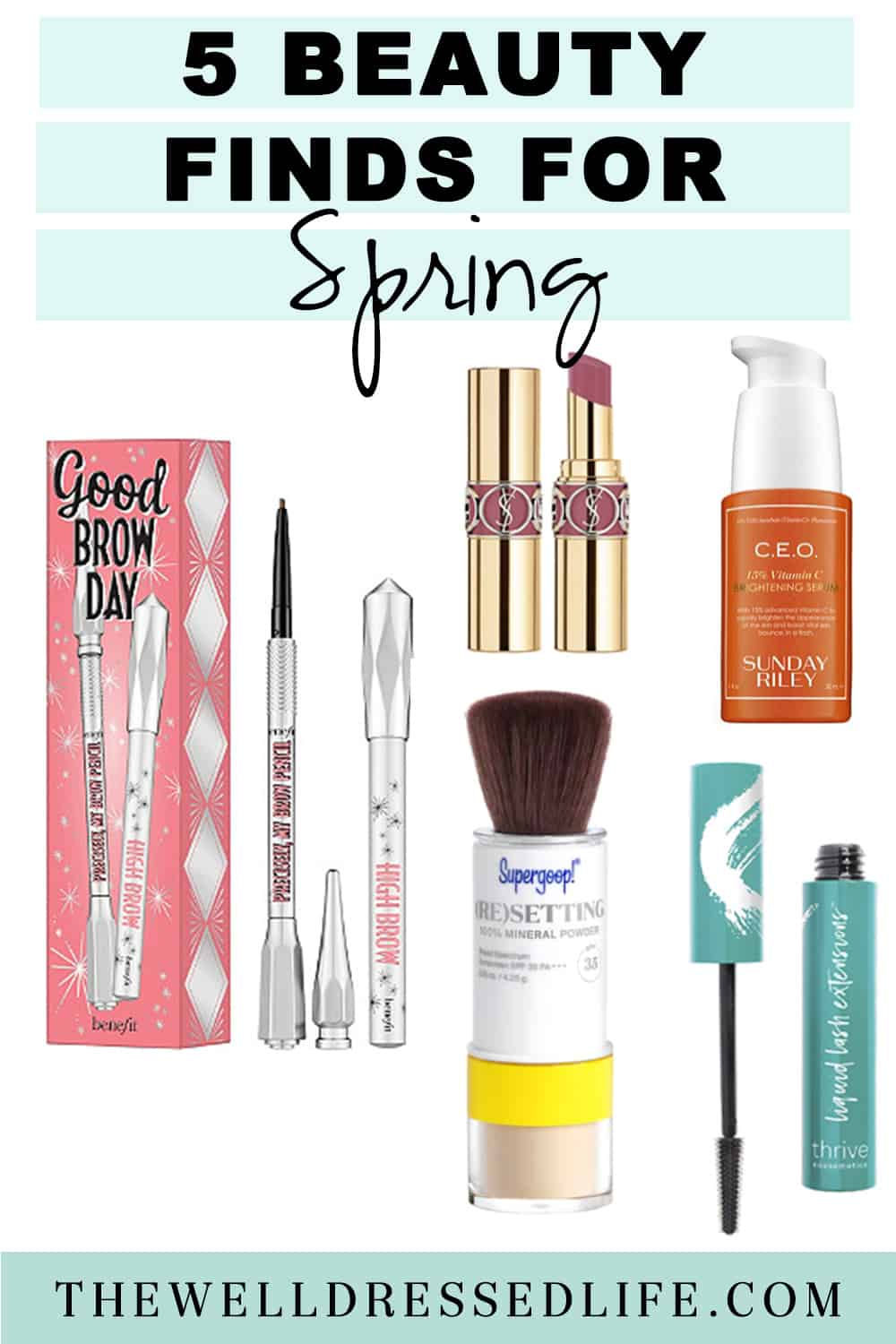 5 Finds to Freshen Up Your Spring Beauty