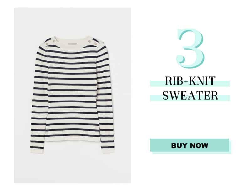 H&M Rib Knit Sweater