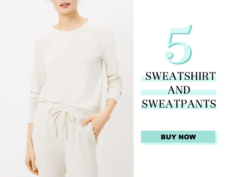 LOFT Sweatshirt and Sweatpants