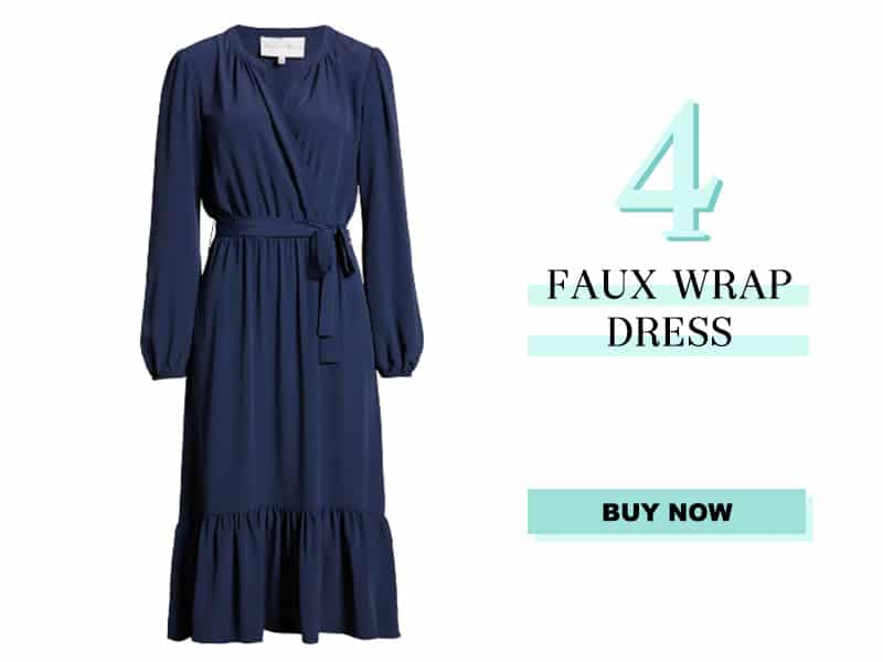 Nordstrom Faux Wrap Dress