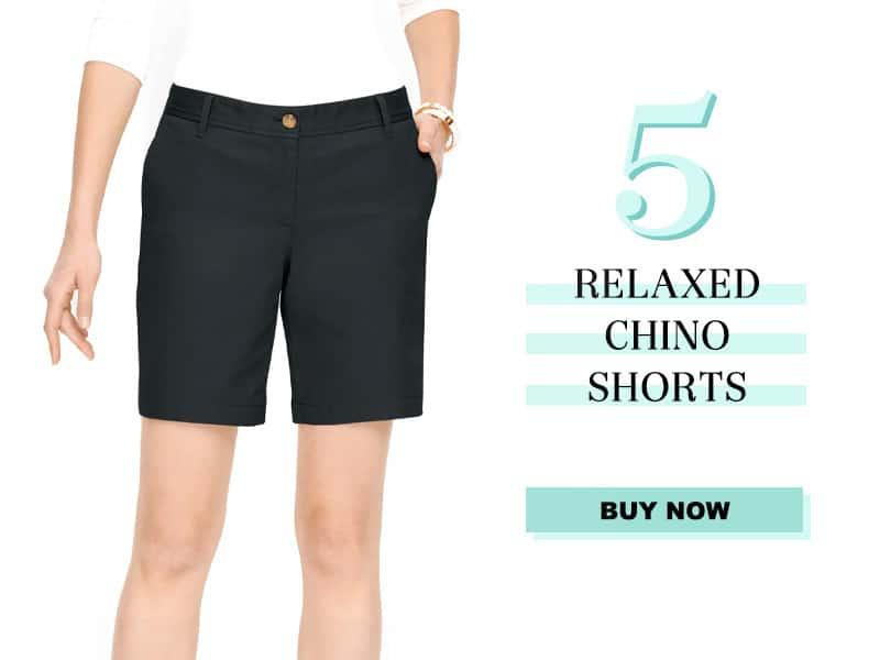 Talbots Relaxed Chino Shorts