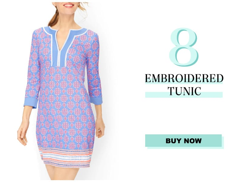 Talbots Embroidered Tunic