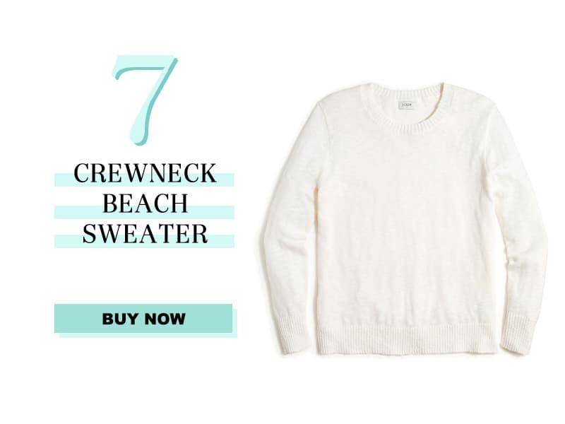 J.Crew Factory Crewneck Beach Sweater
