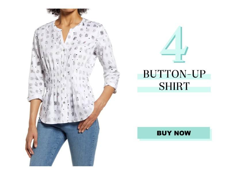 Nic+Zoe button up shirt