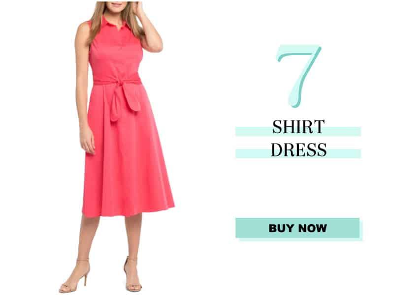 Nic+Zoe shirt dress