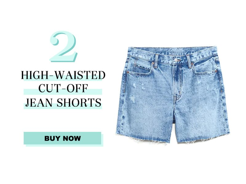 Old Navy cut off jean shorts