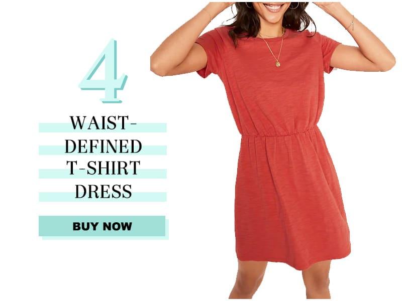 Old Navy Waist Defined t-shirt dress