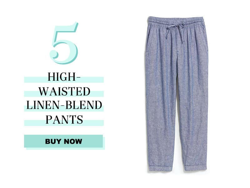 Old Navy high waisted linen pants